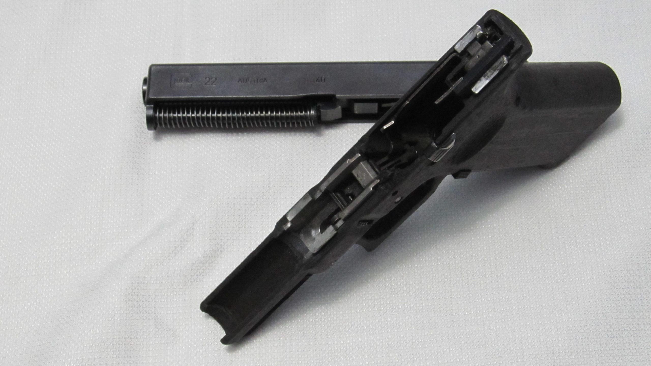 3D Printed Glock Frames